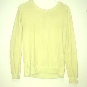 Neon-yellow Sweater